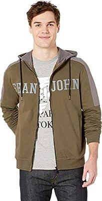 Sean John Mens Long Sleeve Knit Top Solid
