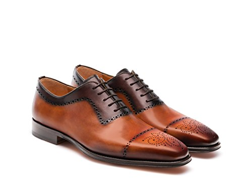 Magnanni Shae Cuero and Brown Men's Lace-up Shoes Cuero and Brown cheap pick a best outlet footlocker y1jbR