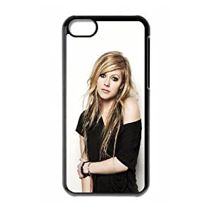iPhone 5c Cell Phone Case Black hg32 avril lavigne music star beauty Dmgco