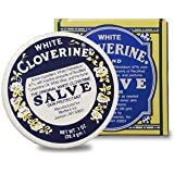 Cloverine White Salve, Petrolatum Skin Protectant, 1 Ounce Tin