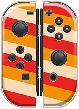 Nintendo Switch ケース 任天堂 スイッチ ジョイコン ケース ハードタイプ 傷から守る ボーダー ストライプ 人気 かわいい おしゃれ