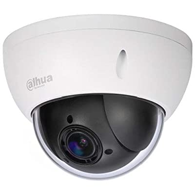 Dahua 4MP 4X PTZ SD22404T-GN 2.7mm-11mm Network Dome Camera 4x Optical Zoom POE IP66 ONVIF Outdoor English Version by Hansen