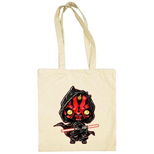 Tela Kawaii Maul Wars Darth Star Bolsa Beige De w5OqYwP