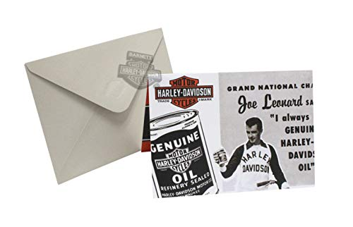 - Harley-Davidson Joe Leonard Genuine Motor Oil Pop-up Blank Greeting Card