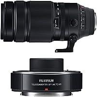 Fujifilm Fujinon XF 100-400mm f/4.5-5.6 R LM OIS WR Telephoto Zoom Lens & Teleconverter XF 1.4x TC WR Lens