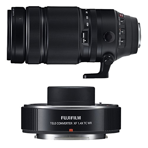 UPC 636156034813, Fujifilm Fujinon XF 100-400mm f/4.5-5.6 R LM OIS WR Telephoto Zoom Lens & Teleconverter XF 1.4x TC WR Lens