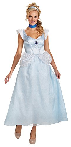 Cinderella Deluxe Adult Costume - Large