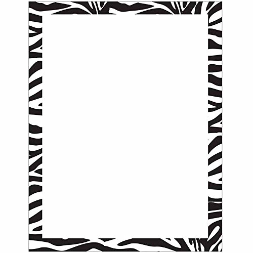 Modern Zebra Animal Print Stationery Letter Paper for sale  Delivered anywhere in USA