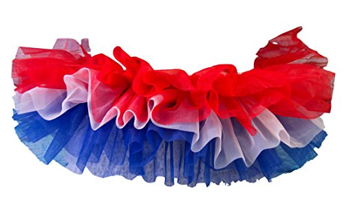 4th Of July Dance Costumes - BellaSous Adult Poofy Tutu for Holiday,