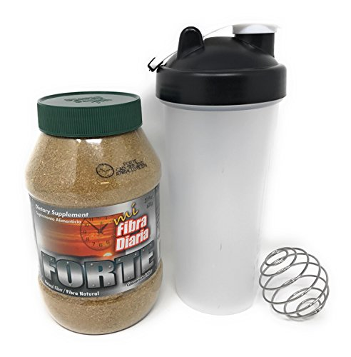 My Daily Fiber Fibra Forte 21.9 oz-Dietary Supplement Maguey Fiber (Agave) Includes Shaker Bottle Daily Dietary Fiber