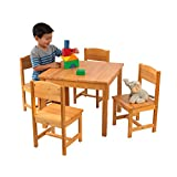 KidKraft Farmhouse Table and Chair Set - Natural