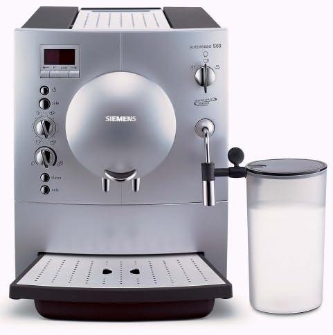 Siemens SURPRESSO S60 tk68001/Espresso – Cafetera automática ...