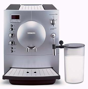 Siemens SURPRESSO S60 tk68001/Espresso - Cafetera automática: Amazon.es: Hogar