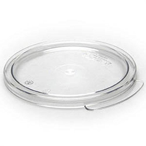 - Cambro RFSCWC1135 Camwear Round Storage Container Hard Lids, 1 Qt., 6 Pack