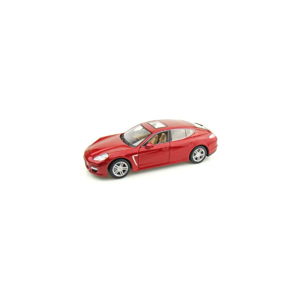 Porsche Panamera Turbo 1/18 Metallic Red