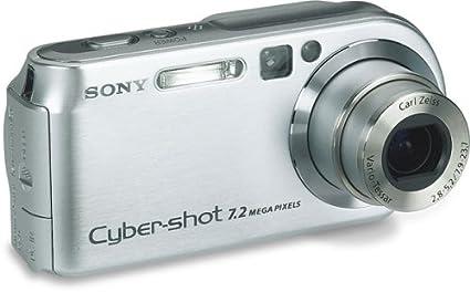 amazon com sony cybershot dscp200 7 2mp digital camera 3x optical rh amazon com Sony Cyber-shot Sony Camera Cyber-shot 7 2 Megapixel Camera