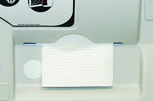 continental-8255-white-disposable-changing-station-bed-liners-case-of-500