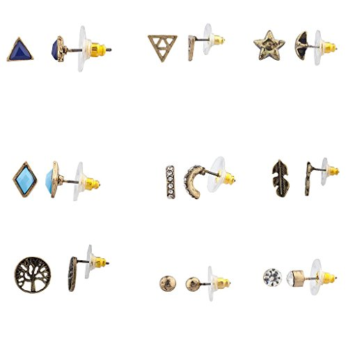 lux-accessories-burnish-gold-boho-novelty-earring-set-9pc