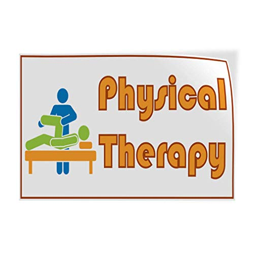 (Physical Therapy #2 Indoor Store Sign Metal Tin Sign Poster Aluminum Sign Decor for Home Bar Diner Pub)