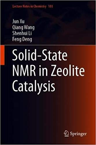 Amazon com: Solid-State NMR in Zeolite Catalysis (Lecture Notes in