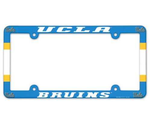 Plastic License Full Plate Color - Wincraft NCAA UCLA Bruins 6