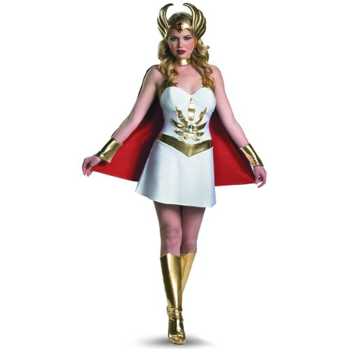 She-Ra Deluxe Costume - Large - Dress Size 12-14 (Shera Costumes)