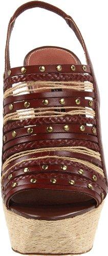 Steven Steve Madden Breannaa - Zapatos de vestir de cuero para mujer marrón marrón 41
