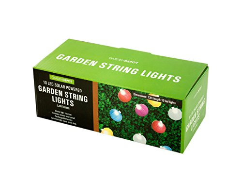 Regalo Perfecto Collection Solar Garden Lantern String Lights by Ben&Jonah