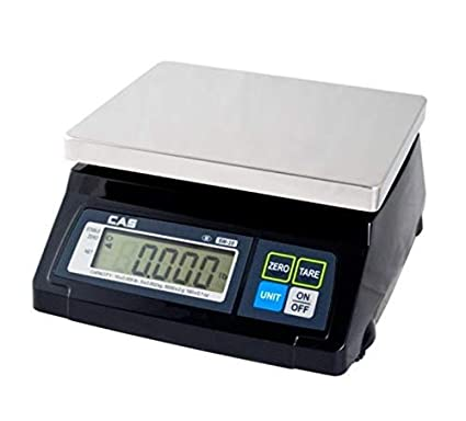 CAS SW-RS (10LB) SW-1RS Series POS Interface Portion Control Scale