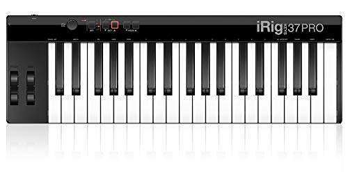 IK Multimedia iRig Keys 37 Pro USB Compact Keyboard MIDI Controller for Mac/PC
