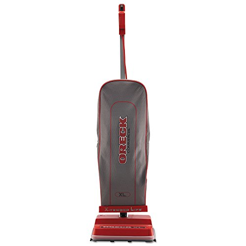 Oreck Commercial U2000RB-1 Commercial 8 Pound Upright Vacuum with Helping Hand Handle and EnduroLife V-Belt, 40