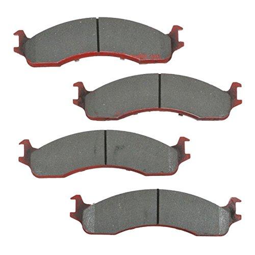 Brake Pad Ceramic Front Set for Ford F250 F350 E250 E350 E450 Dodge Van for cheap