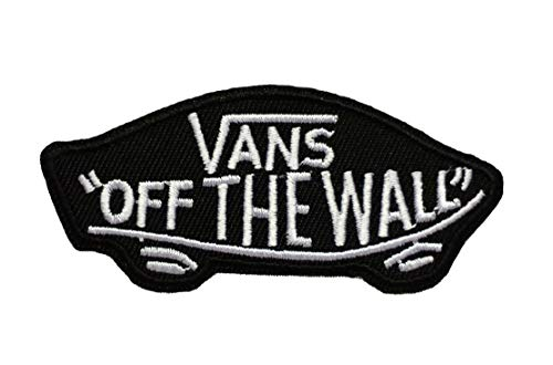 Off The Wall Skateboard Sew/Iron On Patch 3.25