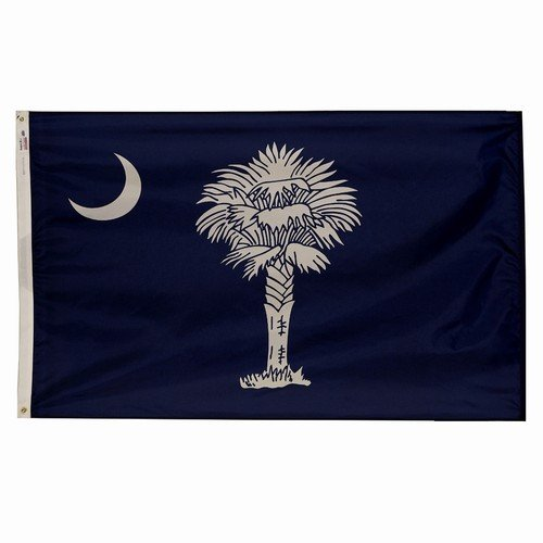 4x6 South Carolina State Flag American Made Superior Outdoor Nylon