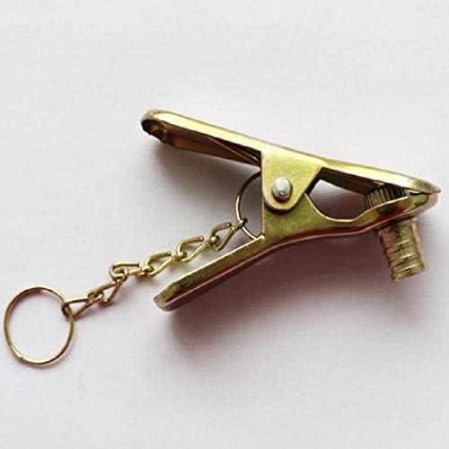 Conector de la Manguera de la Bomba Moto Boquilla de la válvula Adaptador de Hierro de Bombeo Jefe Clip de Oro
