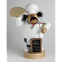 KWO Pizza Baker German Christmas Incense Smoker Pizzeria Man Made in Germany New
