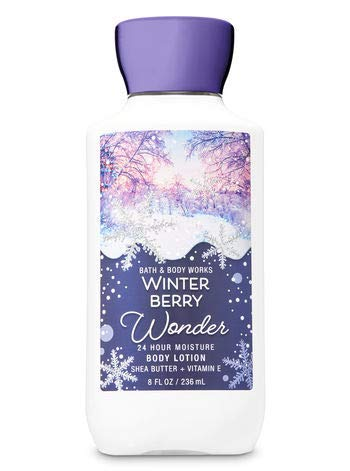 Bath and Body Works Winterberry Wonder Body Lotion 8 Ounce Full Size