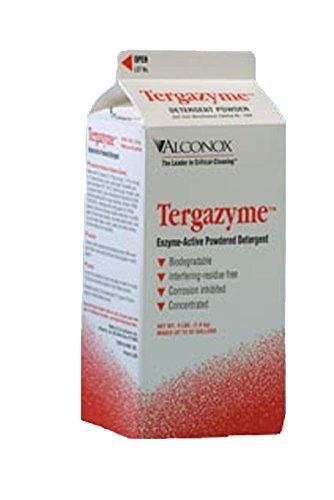 1304 Tergazyme aniónicos detergente con enzimas proteasas, 4 libras Box - - Amazon.com