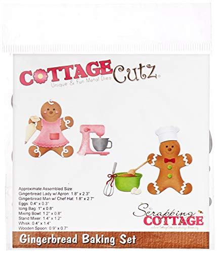 - CottageCutz Gingerbread Baking Set .4