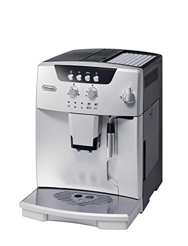De'Longhi ESAM04110S Magnifica Fully Automatic Espresso Machine with Manual Cappuccino System, Silver (Certified Refurbished)