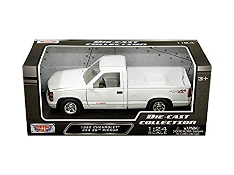Amazon com: Motor Max 1992 Chevy 454 SS Pickup Truck, White 73203WH