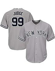 Uniforme de béisbol Judge 99 Camiseta de tamaño con artesanía Bordada, Sudadera con Nombre y número de Jugador Personalizado
