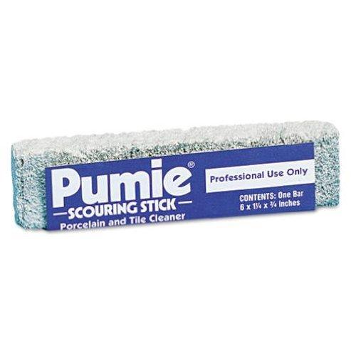 U.S. PUMICE Scouring Stick, 6 x 3/4 x 1-1/4, Dozen