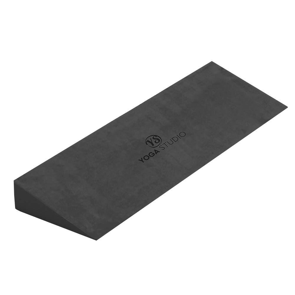Yoga Studio Yoga Cuña - Grafito Gris 50x15x5 cm Cuña EVA Antideslizante para Yoga Iyengar Accesorio Ejercicio Ligero