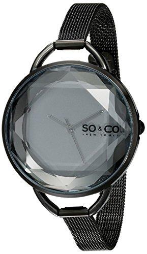 SO-CO-New-York-51043-Reloj-de-cuarzo-para-mujeres-negro