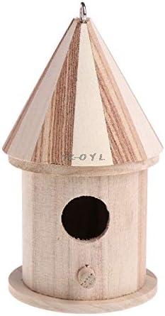 Wooden Nesting Nest Box Bird Cage Bird Table House Small Birds Blue Tit Wren