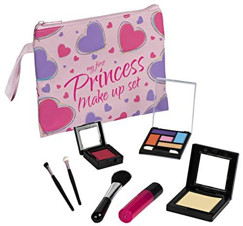 Playkidz My First Princess Pretend Makeup Set - 8 Piece Pretend Play Makeup Set Realistic Looking Toys Pretend Makeup for Girls