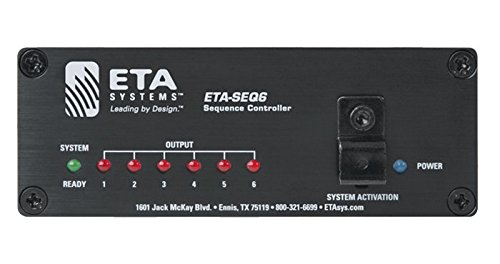 ETA-SEQ6 6 output Electrical Control Sequencer by ETA Cosmetics
