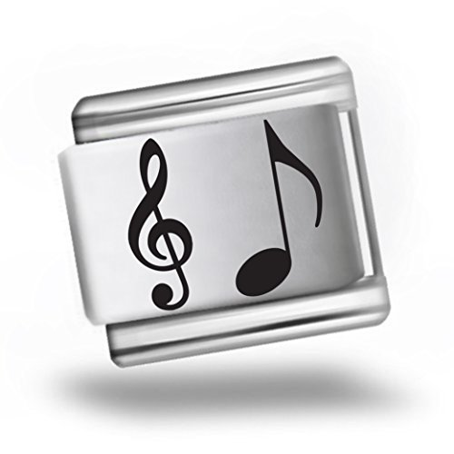 music-note-laser-etched-italian-charm-bracelet-link