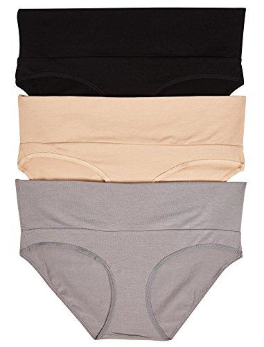 Motherhood Maternity Fold Over Panties (3 Pack)